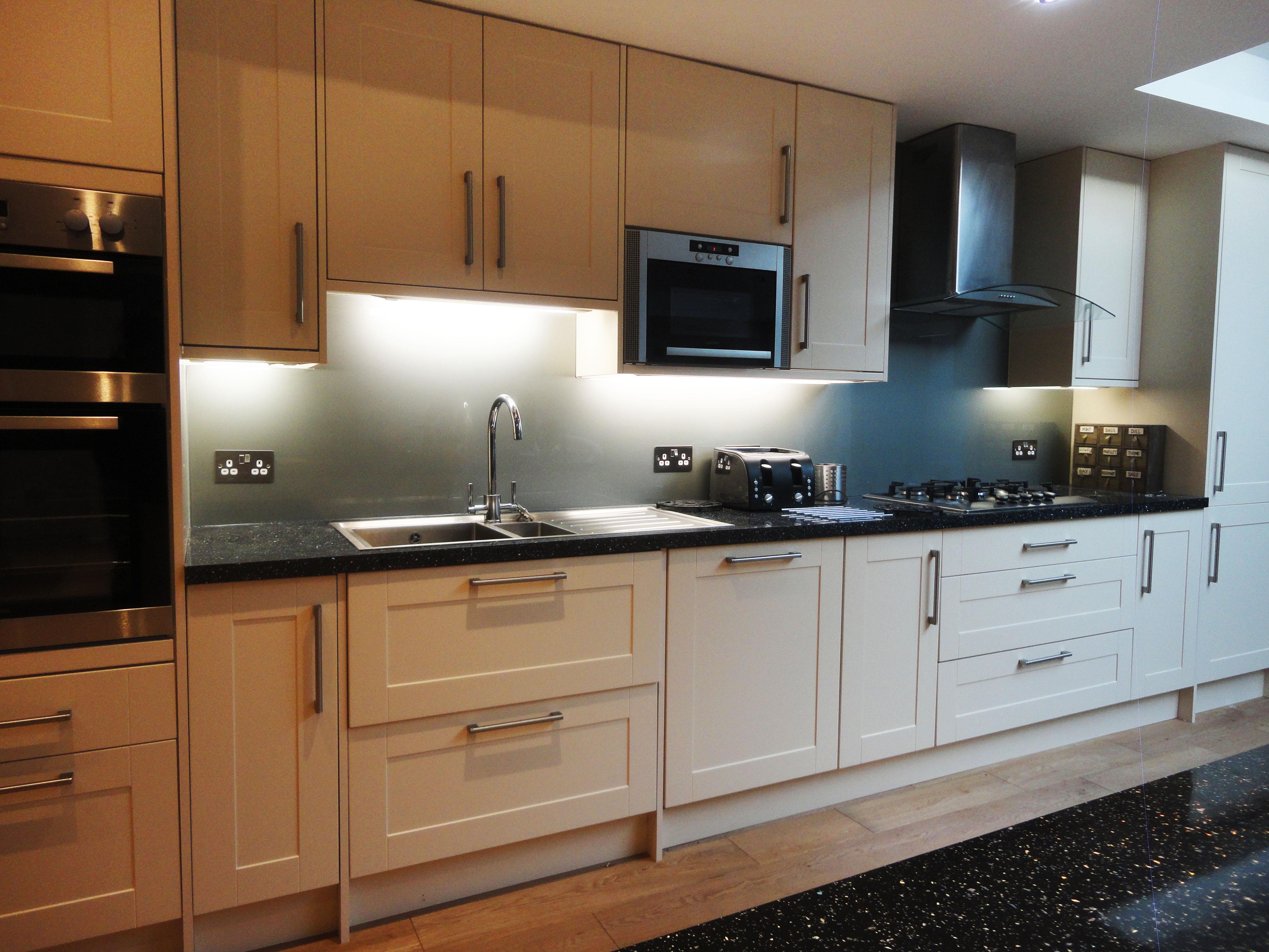 Designer Kitchen Splashbacks Finishes Glass Outlet