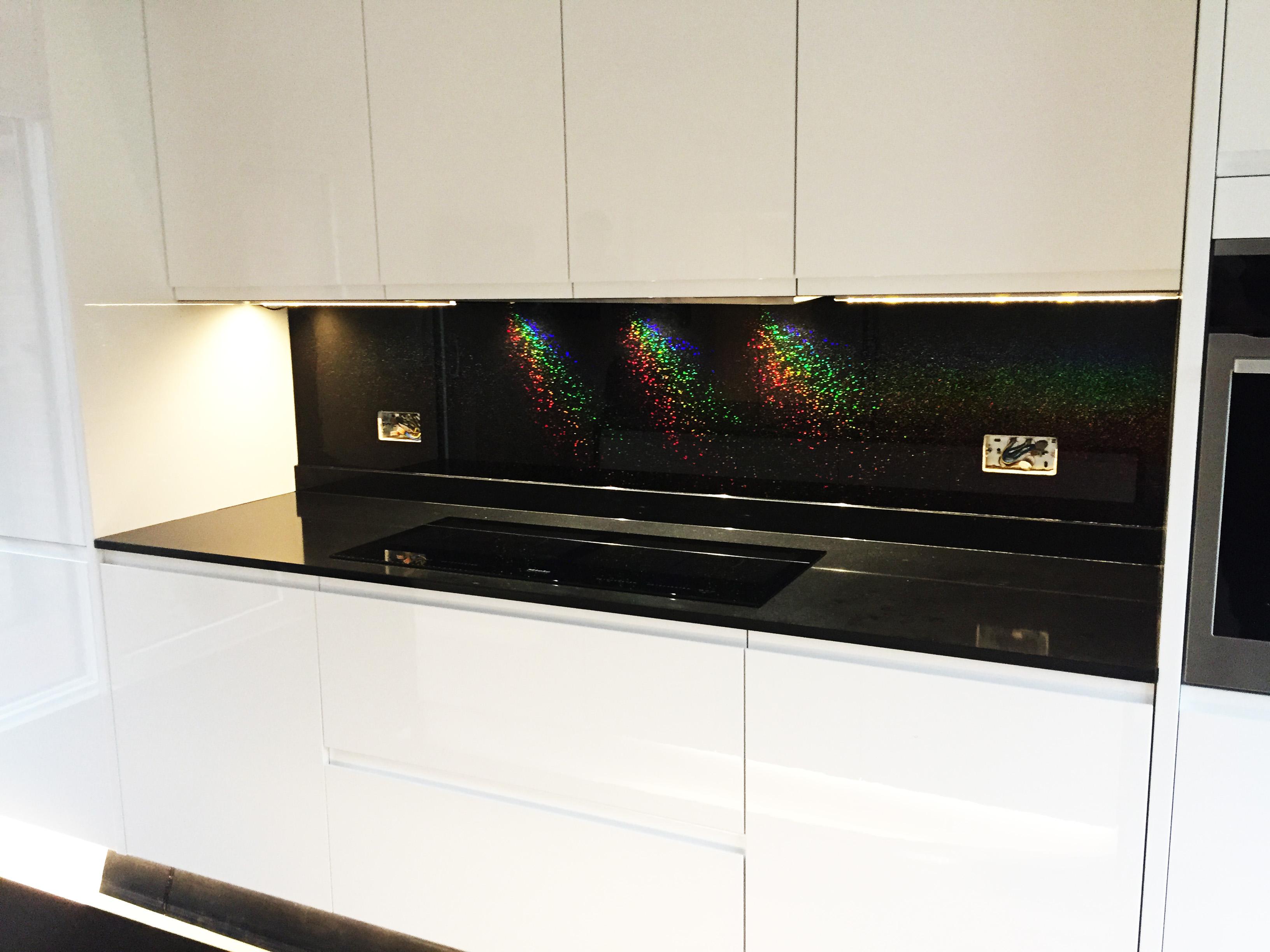 Black Splashback Kitchen Glass Splashbacks For Kitchens And Interiors 20 Winter Sale