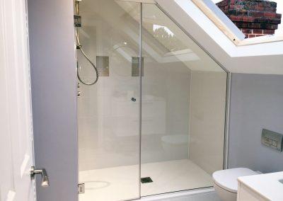 unique shower enclousre