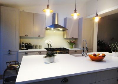 white splashback