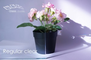 regular clear toughened glass