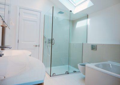 custom made shower enclosure