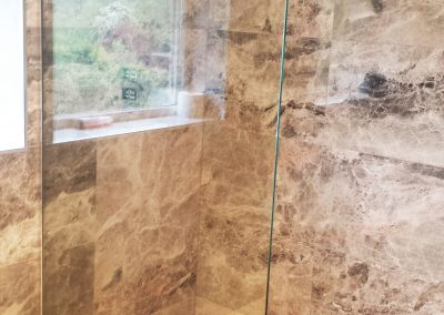 shower screen toughened glass for bathroom