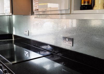 sparkle splash back